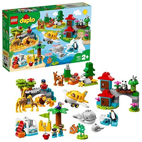 LEGO Duplo 10907 - Tiere der Welt, Bausteine