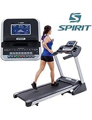 Spirit Treadmill XT 285 - Cinta de andar con 3 CV, 1-18 km/h, inclinación 0-12%, 7,5`` LCD, plegable