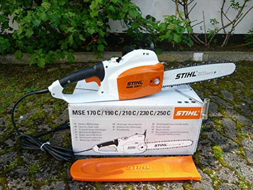 Stihl MSE 250 C-Q Elektro Kettensäge mit 40 cm Schnittlänge + 1,6 mm RS Kette