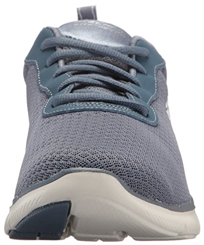 Grigio Sneaker Flex Skechers Slate Donna 0 Appeal 2 Newsmaker dXqw07q
