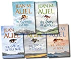 Earth Children Collection 6 Books Set Pack (The Land of Printed Caves, The Clan of the Cave Bear, The Valley of Horses, The Mammoth Hunters, The Plains of Passage) (Earth Children Collection)
