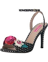 Betsey Johnson Women's Jaime Heeled Sandal