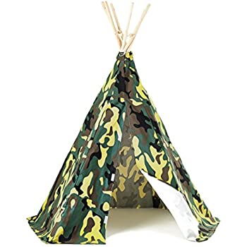 Childrens Pop Up Camouflage Play Tent Suitable For