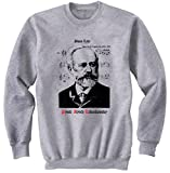 Photo de teesquare1st Men's Pyotr Ilyich Tchaikovsky 3 Grey Sweatshirt par teesquare1st