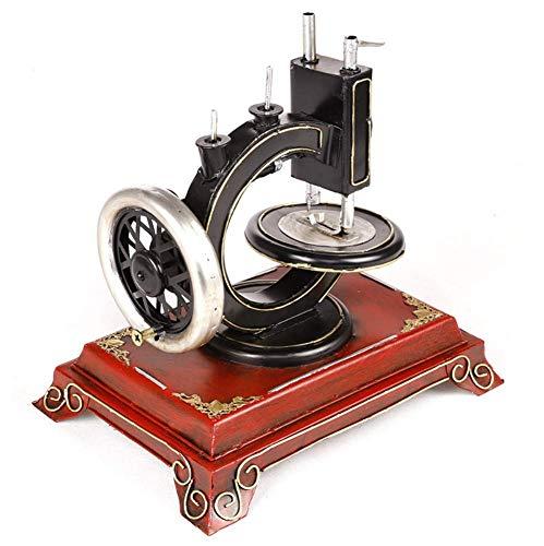 Nähmaschine Bastel Dekoration, Blech Antike Vintage-Modell Fotografie Requisiten, Esszimmermöbel-Accessoires, 27 * 19 * 26Cm