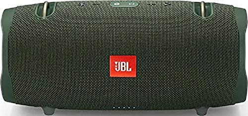 JBL Xtreme 2 Bluetooth Speaker with Rechargeable Battery, Waterproof, Carry Strap Included, Green