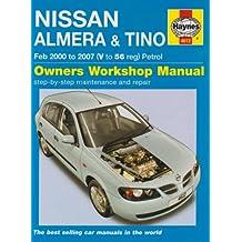 Nissan Almera and Tino Petrol Service and Repair Manual (Haynes Service and Repair Manuals)
