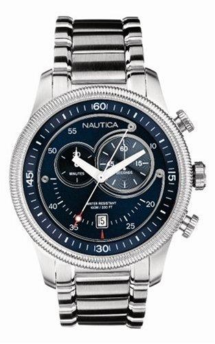nautica-montre-homme-quartz-analogique-bracelet-acier-inoxydable