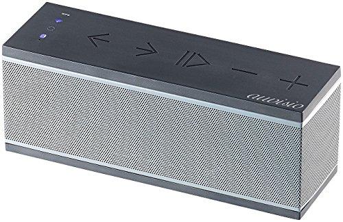 auvisio WiFi Lautsprecher: WLAN-Multiroom-Lautsprecher mit Bluetooth & Mikrofon, 10 Watt RMS (Multi Room Box)