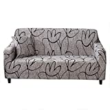 Cafopgrill Funda de sofá elástica Antideslizante Funda de