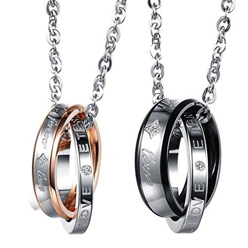 2-teiliges Set aus Halskette und Anhänger von Cupimatch,