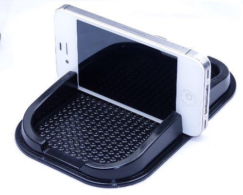 L&P A139 Anti Rutsch Matte iPhone KFZ Handy Matte Haft Pad Handy Halterung antirutschmatte antirutsch Haftpad Ablage Haftung für Handy Kleingeld usw.