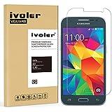 Samsung Galaxy Core Prime Protector de Pantalla, iVoler® Protector de Pantalla de Vidrio Templado Cristal Protector para Samsung Galaxy Core Prime SM-G360 -Dureza de Grado 9H, Espesor 0,20 mm, 2.5D Round Edge-[Ultra-trasparente] [Anti-golpe] [Ajuste Perfecto] [No hay Burbujas]- Garantía Incondicional de 18 Meses