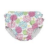 i play. Baby-Girls Infant Ultimate Ruffle Swim Diaper,White Zinnia,X-Large (18-24 Months)