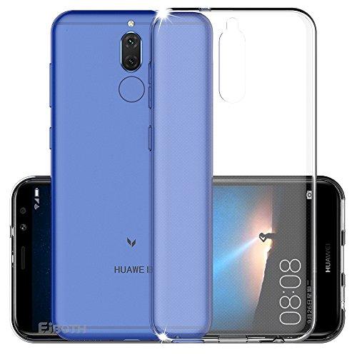 EJBOTH Huawei Mate 10 Lite Hülle Case hoch transparent Schutzhülle aus TPU Material, komplett Schutz gegen Stoß, Kratzer und Risse