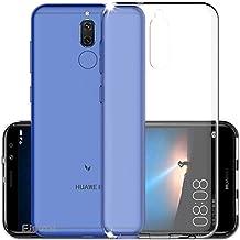 Funda Huawei Mate 10 Lite, EJBOTH TPU Funda Flexible Teléfono Carcasa Protectora espalda Protección integral