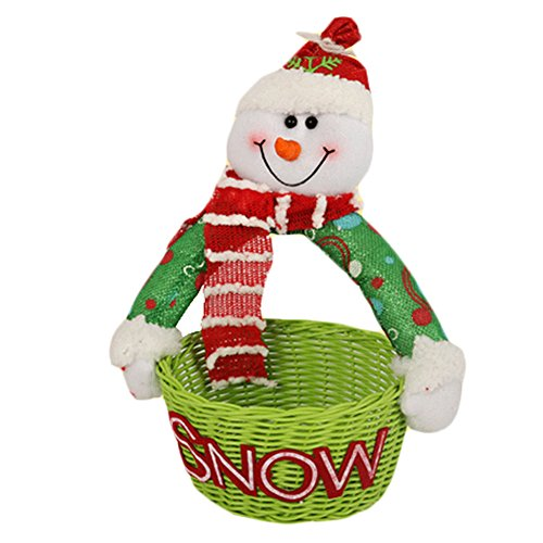 Sucrerie de Noël panier Comptoir ameublement articles Doll Décorations de Noël D