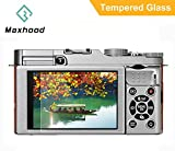 Maxhood Fujifilm X-A1 / X-A2 / X-M1 / X30 Tempered Glass Screen Protector, Optical 9H Hardness 0.3mm Ultra-Thin DSLR Camera LCD Tempered Glass for Fujifilm X-A1 / X-A2 / X-M1 / X30 Digital Camera