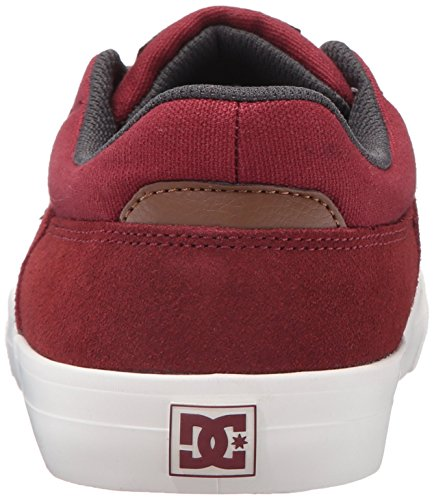 DC , Chaussures de skateboard pour homme Burgundy