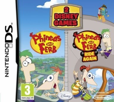Phineas and Ferb - 2 Game Pack (Nintendo DS) [Nintendo DS] [UK IMPORT] (Nintendo Ds Phineas Und Ferb)