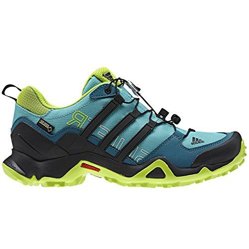 Adidas all'aperto Terrex Swift R Gtx escursionismo scarpe - nero / viola scoppio 5 Vivid Mint / Black / Smi Slr Slm