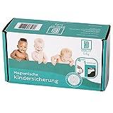 Premium Magnetische Kindersicherung - TÜV geprüftes, unsichtbares Magnetschloss im praktischen 4er-Set von Bablot Baby