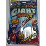 Blue Sky Blue Sky STAR FLYER GIANT ROCKET Self Propelling 41inch Inflatable/Reusable Flying Rocket Balloon