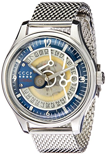 CCCP Men's Heritage 43mm Steel Bracelet & Case Automatic Watch CP-7021-22