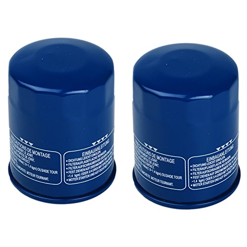 OxoxO (Pack of 2) Oil Filter Replace for Part # 15400-PLM-A02