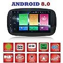 Android 8.0GPS USB WLAN Bluetooth Autoradio Navi Smart Fortwo W4532014, 2015, 2016, 2017