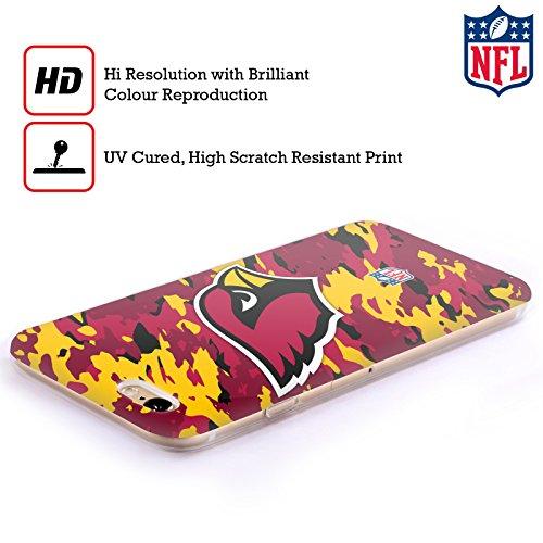 Offizielle NFL Fussball Arizona Cardinals Logo Soft Gel Hülle für Apple iPhone 6 Plus / 6s Plus Camou