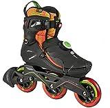 Powerslide Inline Skates VI Pure 3-Rad schwarz pink Größe 36