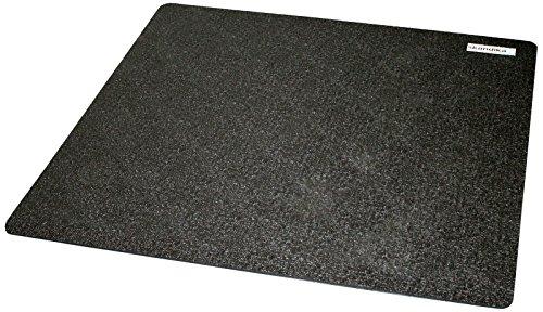 skandika Bodenschutzmatte, schwarz, 100 x 100cm, 24931-2