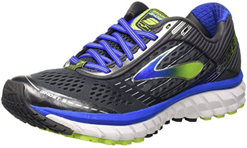 Brooks Ghost 9, Men's Competition Running Shoes, Black (Anthracite/electric Blue), 9.5 UK...