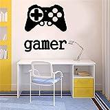 sticker mural Autocollant Temps De Jeu Xbox 360 Ps3 Contrôleur Joueur Pour Salle De Jeux Garçons Chambre