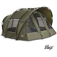 Lucx® Bivvy Leopard tienda de campaña para pesca 1-3 personas/carpa cúpula, columna de agua de 10.000mm–tienda de campaña