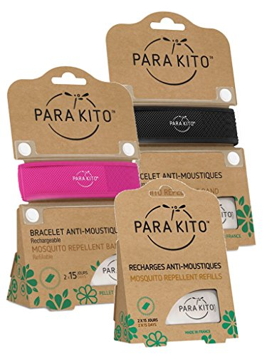 Parakito - PROTECTION ANTIMOUSTIQUE NATURELLE - KIT 2 x...