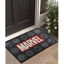 "Athom Trendz Marvel Polyester Door Mat - 15""x23"", Multicolour"