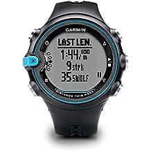 Garmin Swim - Reloj deportivo para hombre, con correa de plástico, color negro / azul