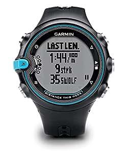 Garmin Swim Activity Tracker per Nuoto, Colore Nero/Celeste
