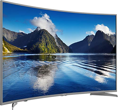 Hisense H55NEC6500 138 cm (55 Zoll) Curved Fernseher (Ultra HD, HDR10, Triple Tuner, Smart TV)