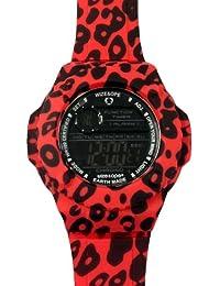 Wize & Ope  0 - Reloj de cuarzo unisex, con correa de silicona, color multicolor