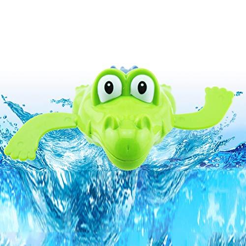 lzeug Uhrwerk Krokodil Wind Up Spielzeug Schwimmen Schildkröte Sommer Pool Bad Float Spielzeug Beste Kind Kunststoff Badewanne Baby Shower Set (Zufällige Farbe) ()