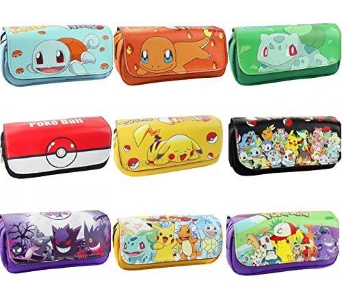 Astuccio da scuola 2 Scomparti Pokemon (Pikachu)
