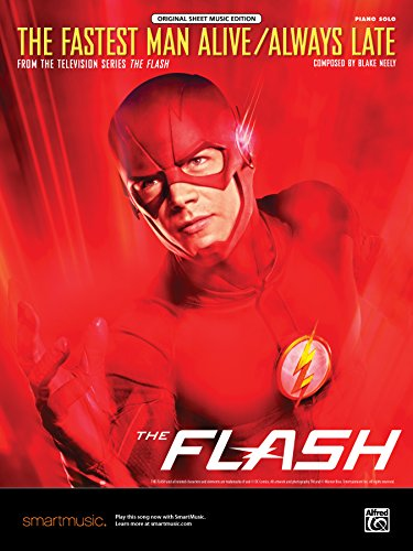 The Fastest Man Alive / Always Late: From the Television Series the Flash, Sheet (Film Adult Flash)