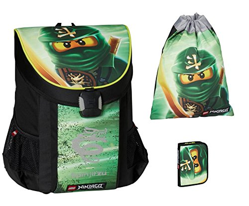 Lego - Lloyd - Easy School Bag - Easy Schulranzen / Schulranzen Set 3 tlg.