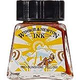 Winsor & Newton Zeichentusche 14ml Flasche Sonnengelb