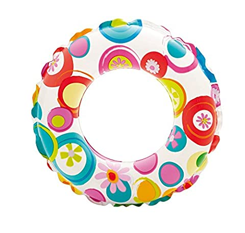 Intex 9559230 51 cm Lively Print Swimming Tube Water Toy