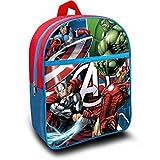 Avengers Mochila Pequeña para Niños Infantil Escolar Marvel De Los Vengadores 30 x27 x 10 cm.