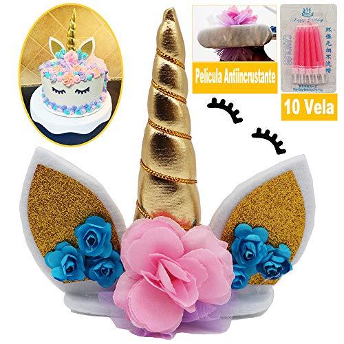 WELL BUY Decoración Tarta Unicornio Decoración Pasteles